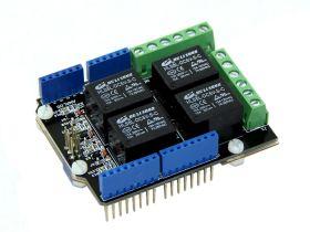 Relay Shield V2.0 (4 канала реле)