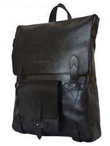 Кожаный рюкзак Arma black