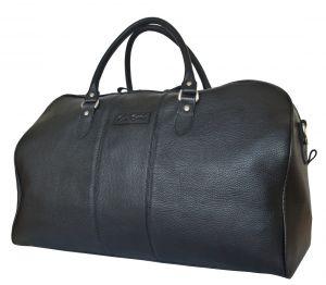 Кожаная дорожная сумка Campelli black