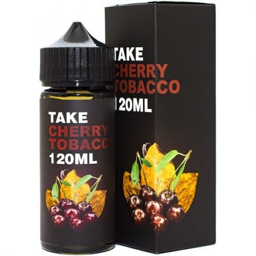 Жидкость для Электронных сигарет Take Cherry Tobacco 120мл