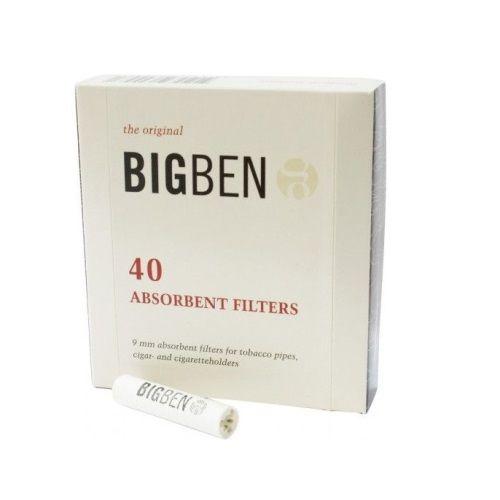 Фильтры трубочные BIGBEN Original угольные (10х40)