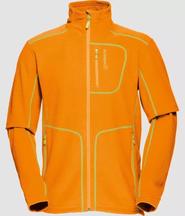 Norrona Lofoten warm1 jacket (M) ORANGE CRUSH