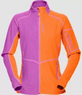 Norrona Lofoten warm1 Jacket W - MAGMA/PUMPED PURPLE