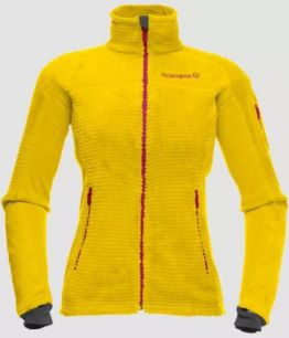Norrona Lofoten warm2 High Loft W YELLOW SAFFRON
