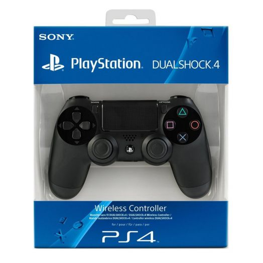 Геймпад Sony PlayStation 4 (v1 синяя упаковка)