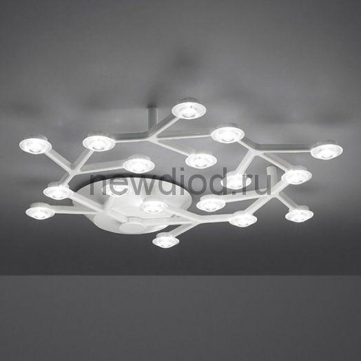 Artemide Led Net Circle D55 светильник настенно-потолочный