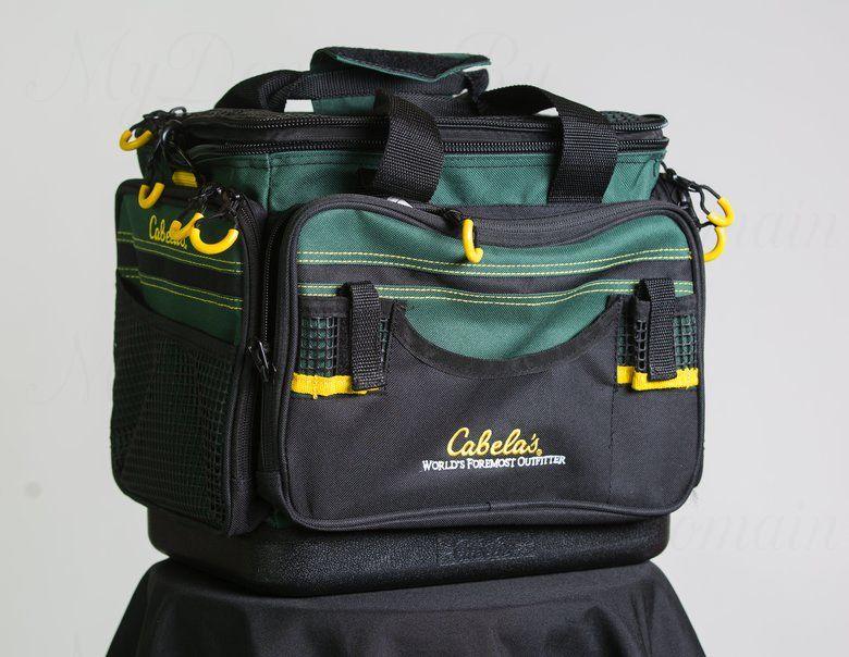 СУМКА CABELA'S ADVANCED ANGLER BAGS LARGE (с 6 коробками 3650-size ProLatch Stowaway)