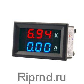 Вольт-амперметр DC до 100В 10А