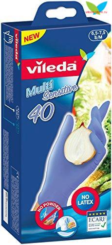 Одноразовые перчатки S/M из 100% нитрила (40 пар в упаковке)