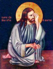 Икона Плач Иисуса Христа об убиенных младенцах