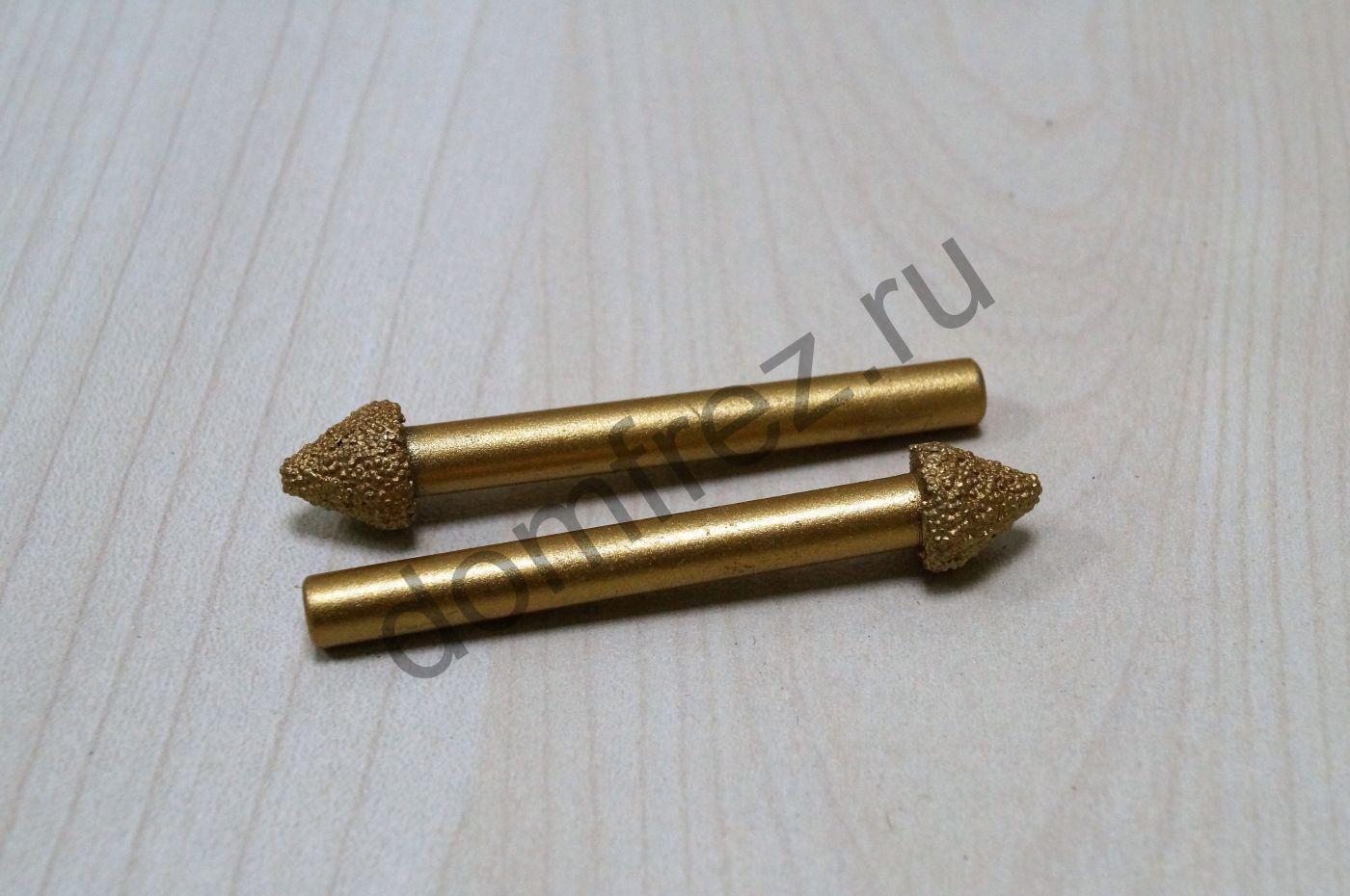 Фреза алмазная концевая фасонная 6x10х60x60 A893406106060