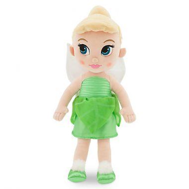 Фея Динь Динь в детстве кукла плюшевая Дисней