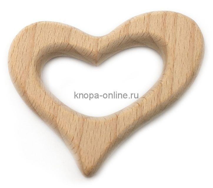 Деревянный грызунок - Сердце