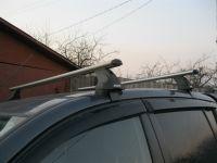 Багажник на крышу Toyota Venza, Атлант, аэродинамические дуги