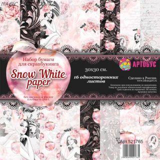"Набор бумаги  ""Snow White paper"" 30х30 см"