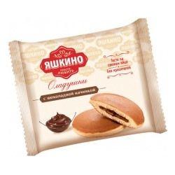 Вафли мягкие с вареной сгущенкой 40г Яшкино