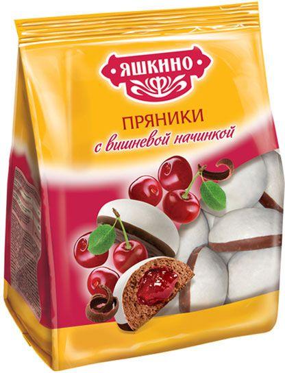 Пряники с вареной сгущенкой 350г Яшкино