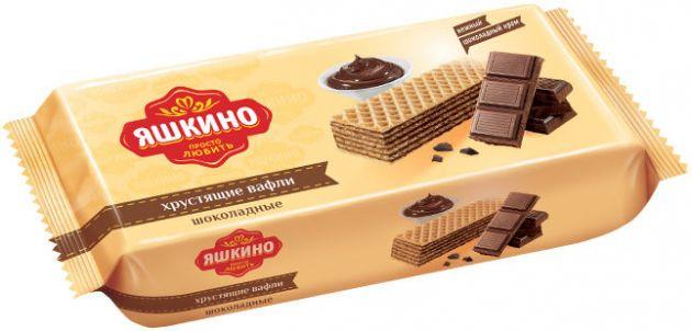 Вафли Яшкино шоколадные 300г