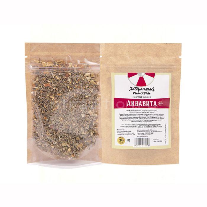 Набор трав и специй Аквавита (настойка)