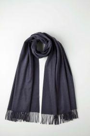 Роскошная классическая шотландская  шаль, высокая плотность, 100 % драгоценный кашемир, расцветка Найтшейд , NIGHTSHADE CLASSIC CASHMERE   (премиум)