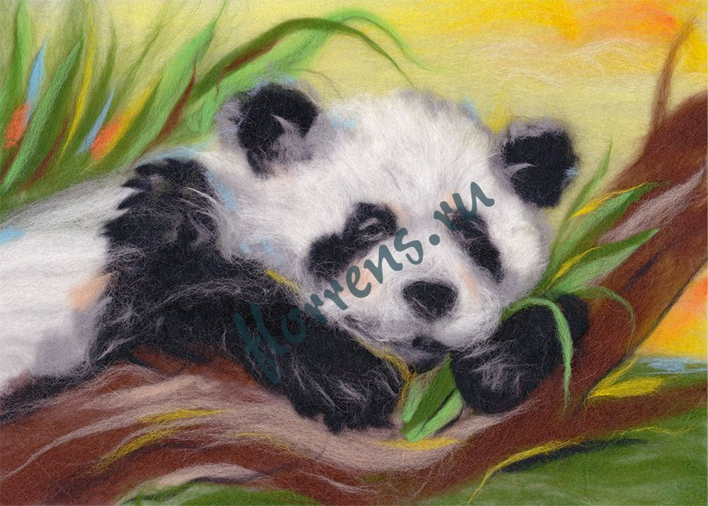 """""""Woolla"""" WA-0135 набор """"Беззаботная панда"""""""