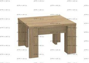 Стол журнальный Taimie (19.501.00) (60х60х38)