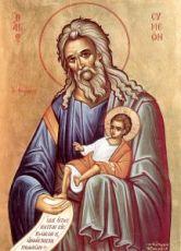 Икона Симеон Богоприимец