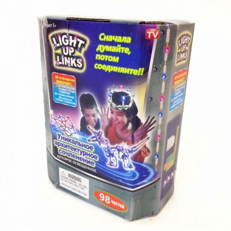 Светящийся Конструктор LIGHT UP LINKS, 98 Деталей