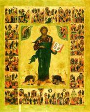 Икона Спас Смоленский (копия старинной)