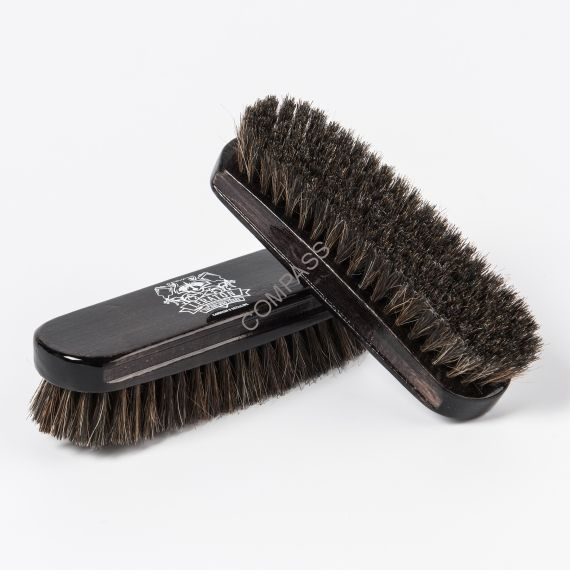 Щетка для чистки кожи LERATON из натуральной щетины