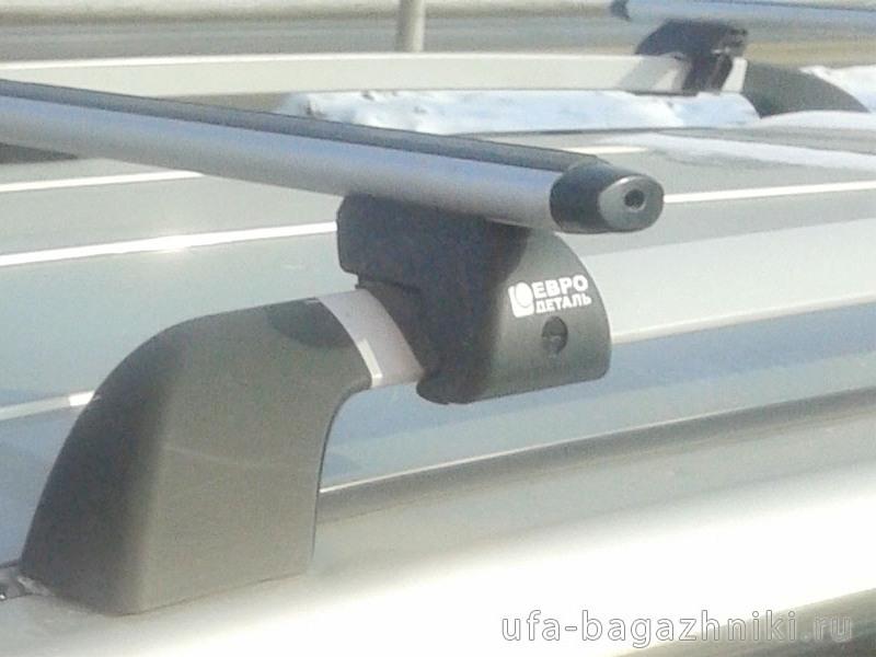 Багажник на крышу - аэродинамические дуги на рейлинги УАЗ Патриот, Евродеталь