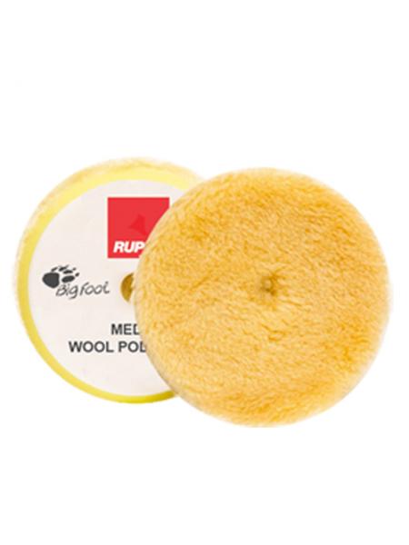 Rupes Диск полировальный из натуральной овчины, желтый, диаметр 30/45мм.