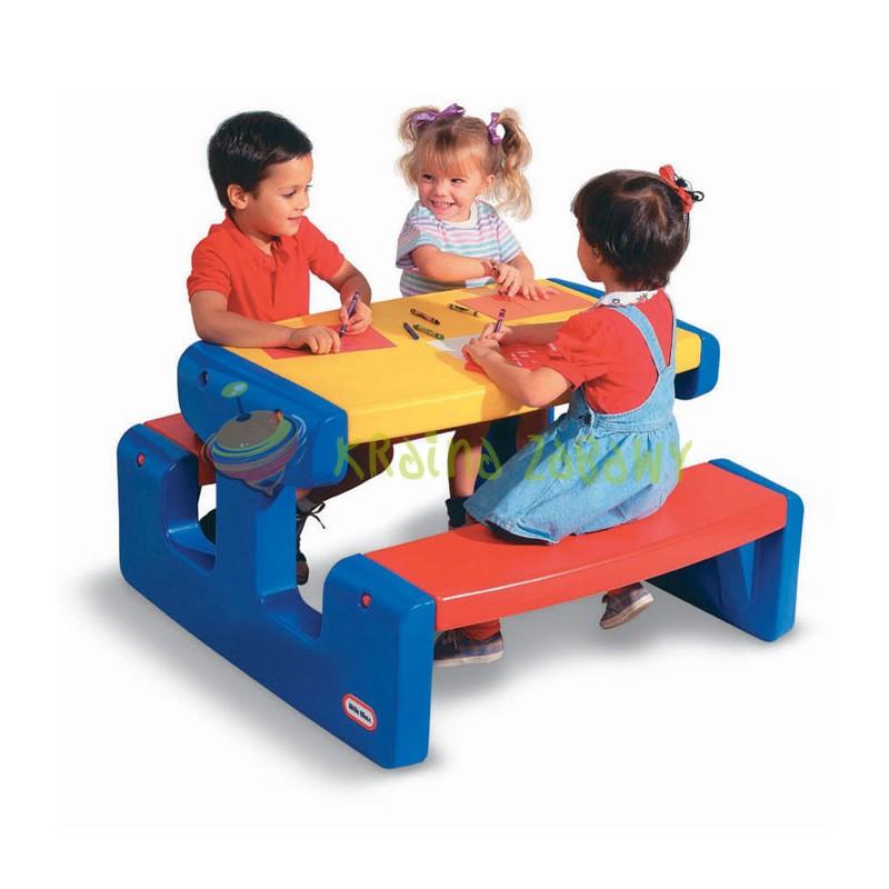Большой стол для пикника синий Little Tikes 4668