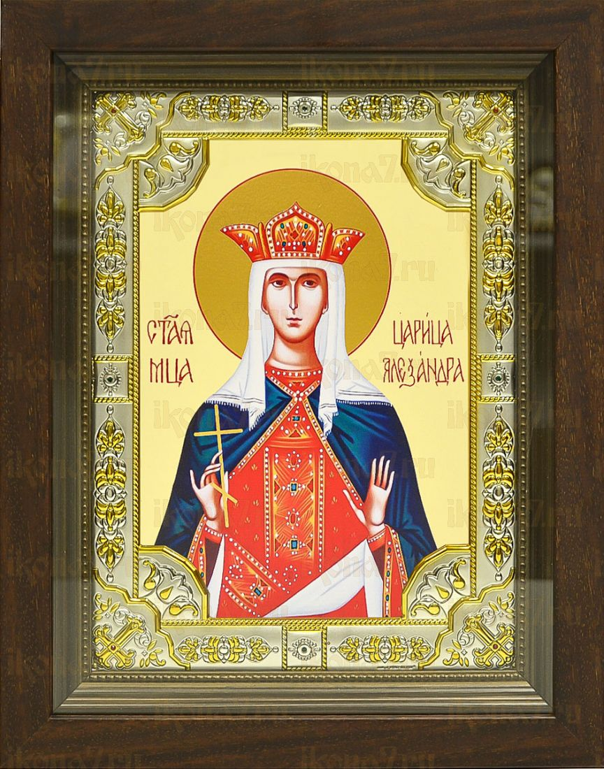 Александра Римская (24х30), серебро