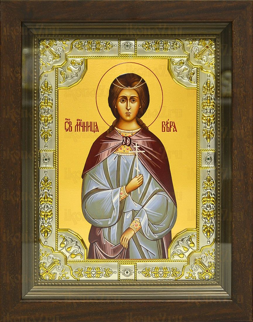 Вера Римская (24х30), серебро