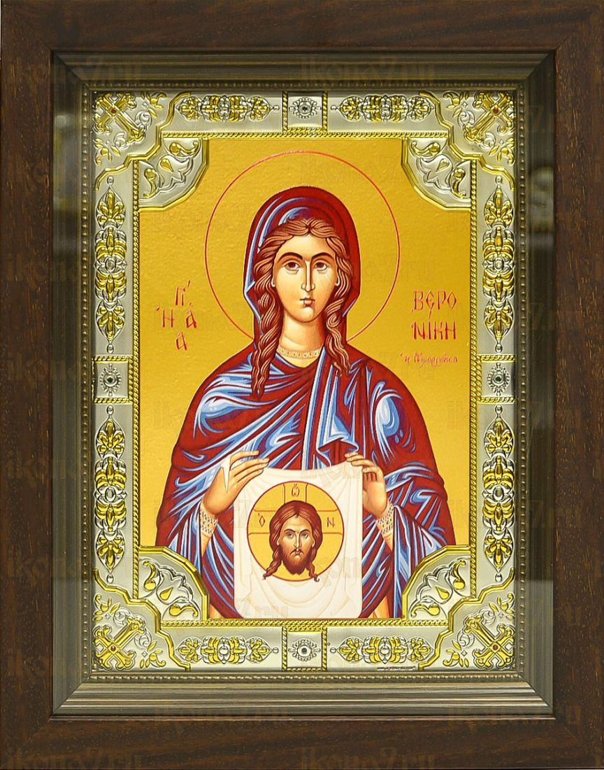 Вероника Праведная (24х30), серебро