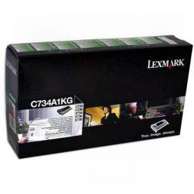 Картридж Lexmark C734 черный C734A1KG