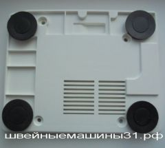 Нижняя часть корпуса с резиновыми ножками   JUKI 644, 654       цена 500 руб.