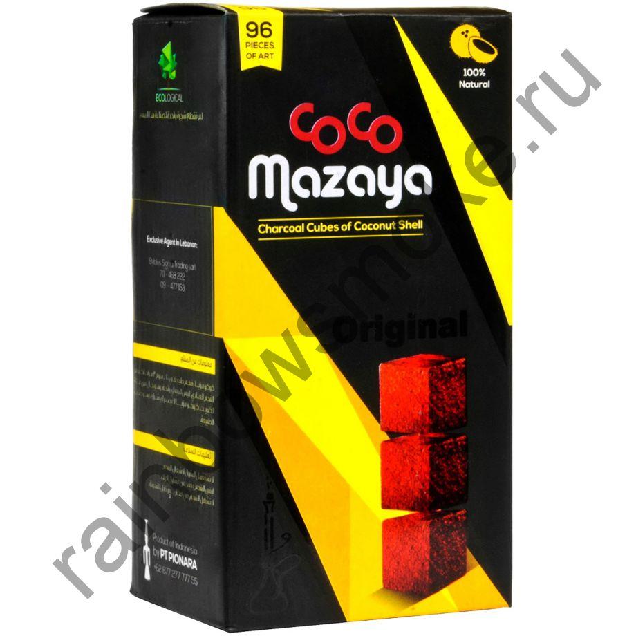 Уголь кокосовый для кальяна Coco Mazaya (96 шт)