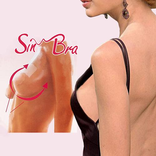 Бюстгалтер-невидимка Sin Bra (6 пар)