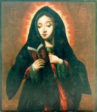 Калужская икона Божией Матери (копия старинной)