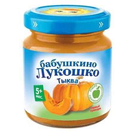 Пюре Бабушкино Лукошко тыква 100г