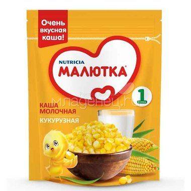 Каша Малютка Молочная кукурузная с 5мес. 220г Россия
