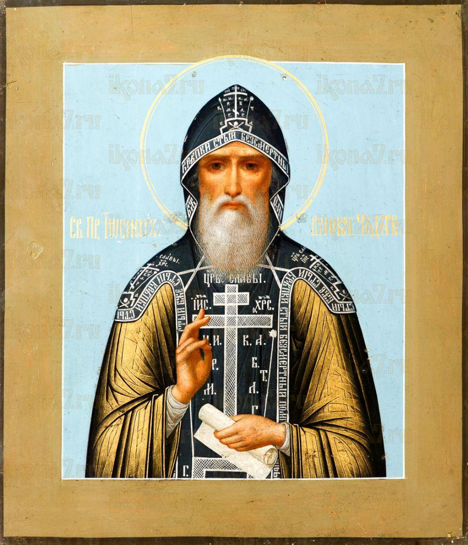 Икона Иосиф Волоцкий (копия стариной)