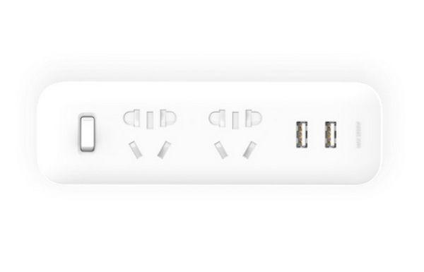 Разветвитель MiJia Power Strip (2 розетки + 2 USB) (Белый)