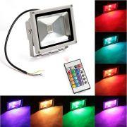 50W RGB  Прожектор светодиодный цветной