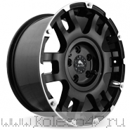 BUFFALO BW-004 8.5x17/5x127 ET25 D78.3 Gloss-Black-Machined-Face