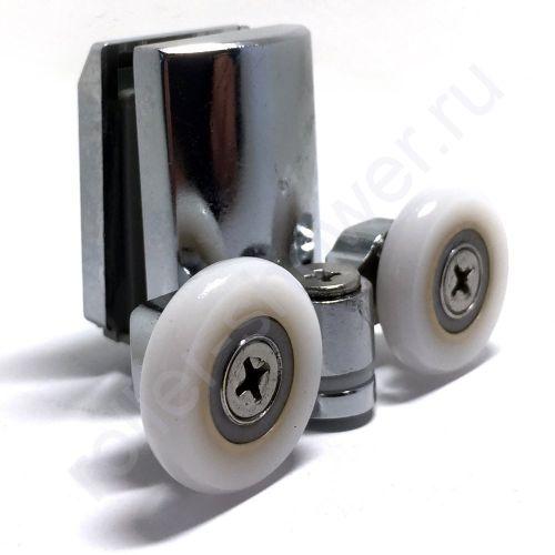 Ролик для душевой кабины VH067 нижние. Диаметр колеса (от18.6мм до 28мм) (комплект 4шт)