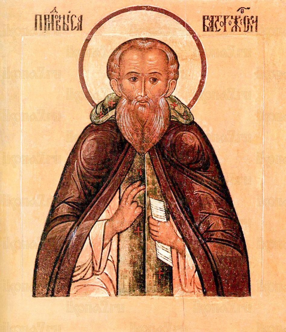 Икона Савва Сторожевский (копия старинной)