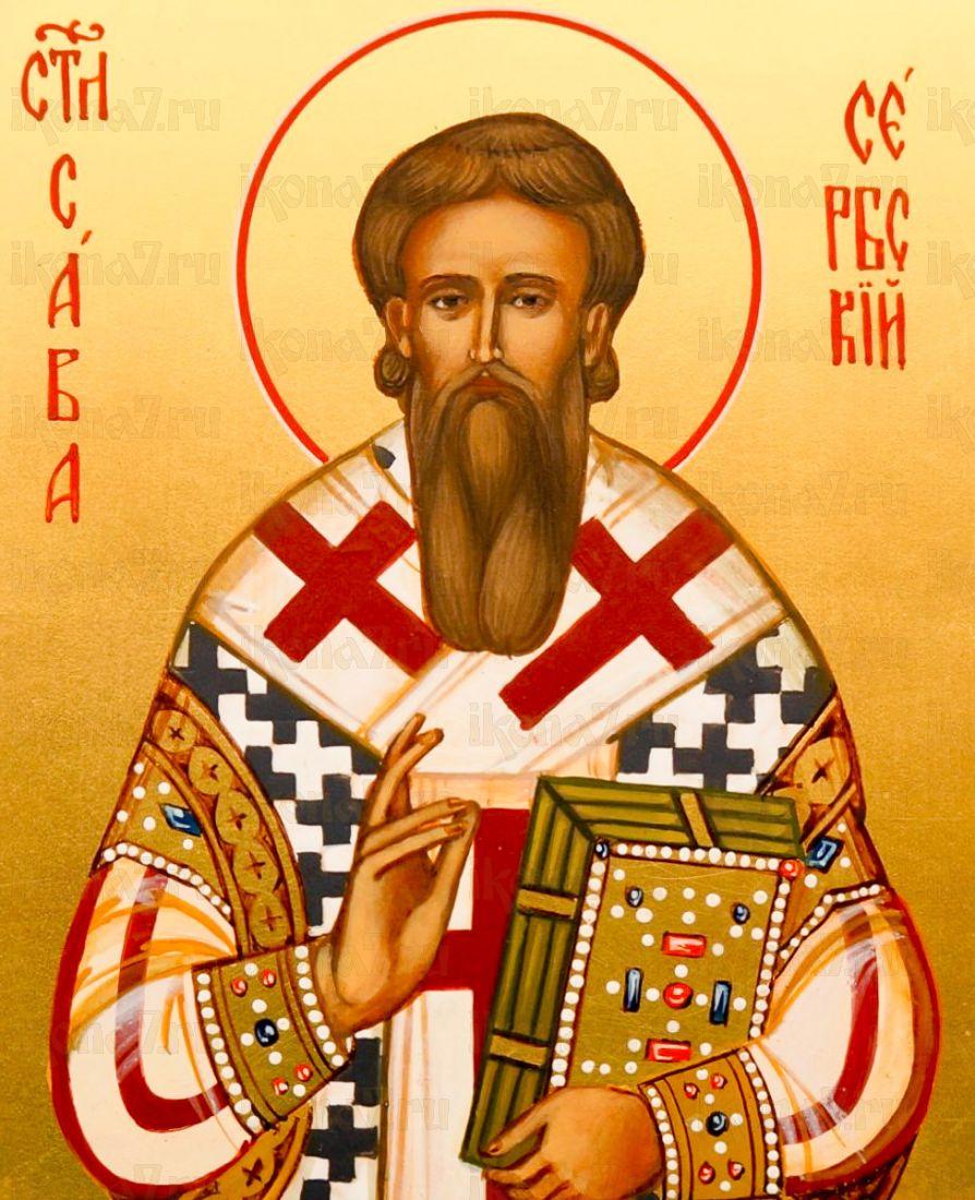 Икона Савва Сербский